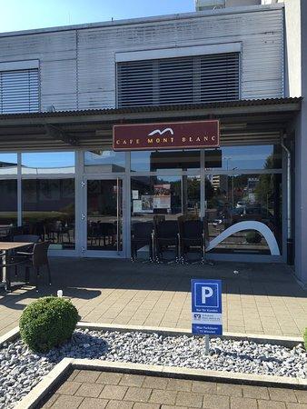 Laufenburg, Germany: Cafe Mont Blanc