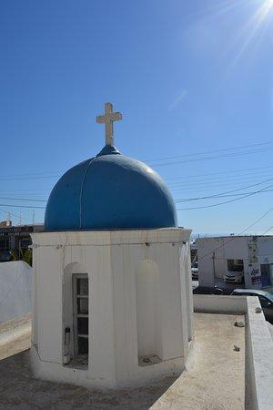 capilla frente al hotel leta