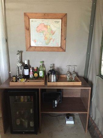 Timbavati Private Nature Reserve, Südafrika: Complimentary Mini-Bar