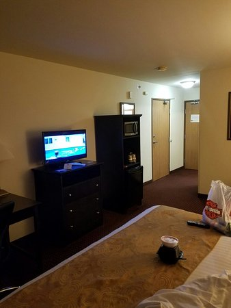 South Beloit, Ιλινόις: Pics of King size room