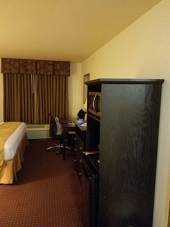 South Beloit, Илинойс: Pics of King size room