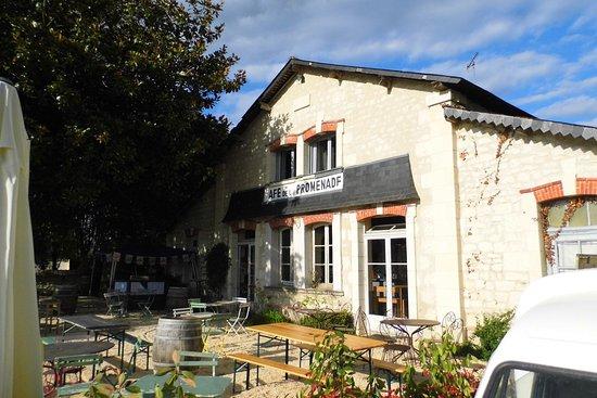 Bourgueil, Francia: Cafe de la Promenade