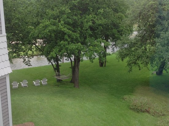 Salado, TX: The creek and comfy chairs to while away the evenin