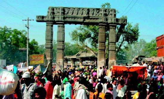 Warangal, Indien: at jathara time
