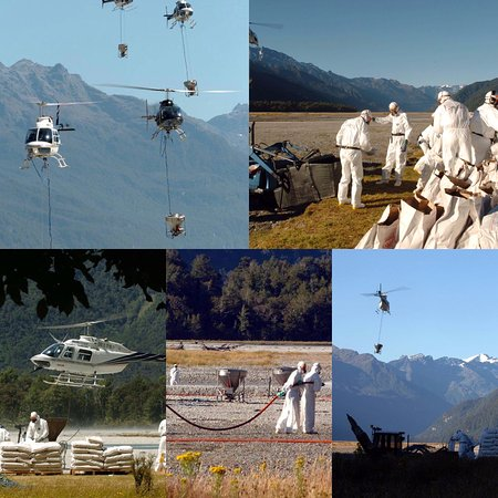 Mount Aspiring National Park: 1080 to be dropped in Mt Aspiring next week by DOC stay clear.