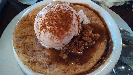 Lenoir, NC: Cobbler was a super-sweet cinnamon bomb with no peach flavor whatsoever.