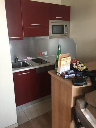 Küche - Photo de Appart\'City Confort Marne la Vallee - Val d ...