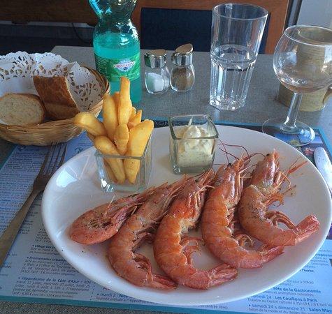 Restaurant La Mouette Cagnes Sur Mer
