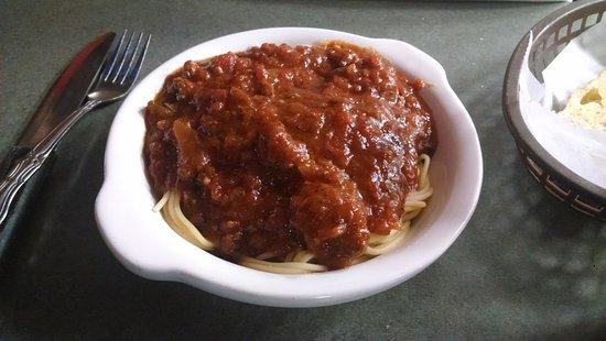 Jefferson, Caroline du Nord : Spaghetti.