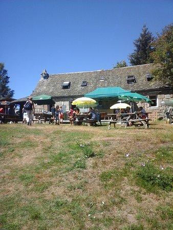 Recoules-d'Aubrac, Frankrig: devant du buron