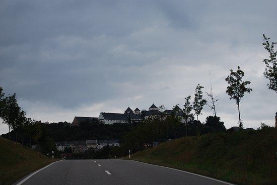 arrivando al castello di Augustusburg