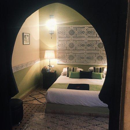 Riad Jona : Bedroom - view from bathroom