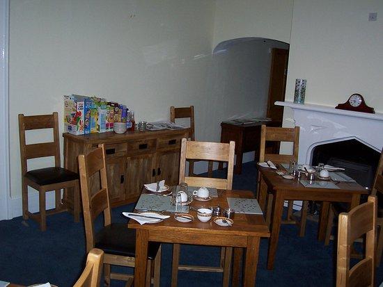 Colerne, UK: Dining room
