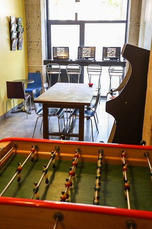 Play At The Table Football Picture Of Le Regent Montmartre Paris - Conference table football