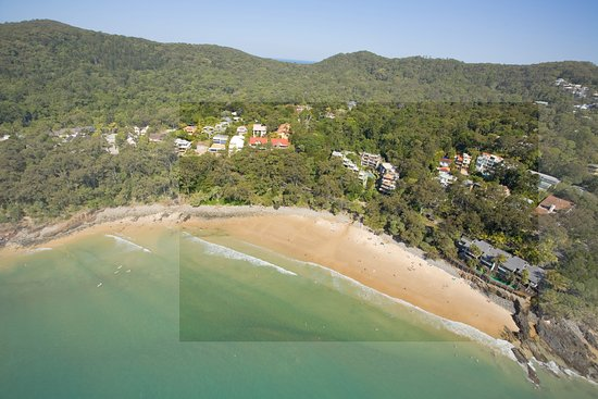 The Cove Noosa Resort: Arial resort overview
