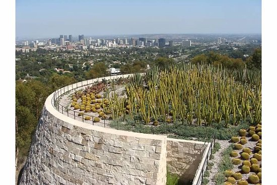 The Getty Center: Rooftop Cacti Garden At The Getty