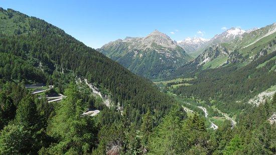 جريسنس, سويسرا: Maloja Pass