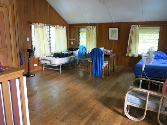 Uepi, Solomon Islands: living area