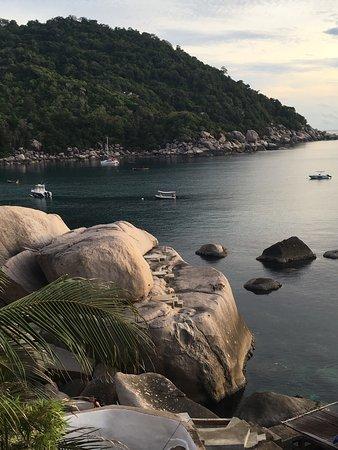 Hin Wong Bungalows: Prachtig uitzicht en mooi snorkelen