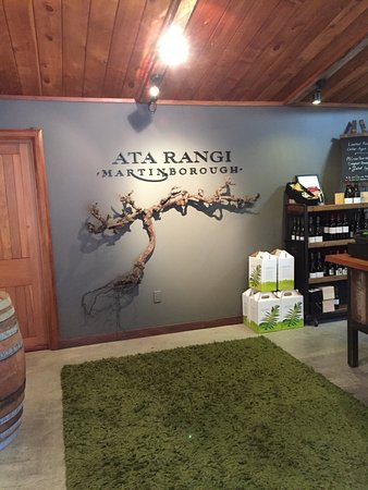 Martinborough, Nya Zeeland: Ata Rangi winery