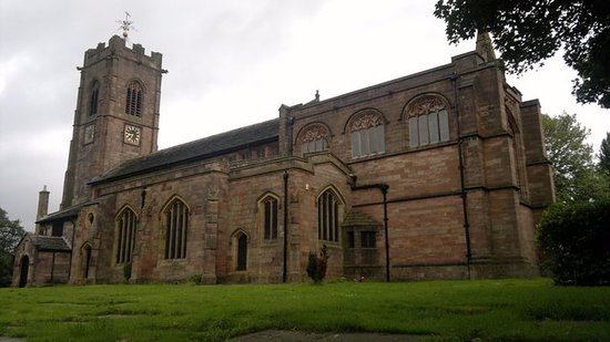 Prestwich, UK: St Mary's Church
