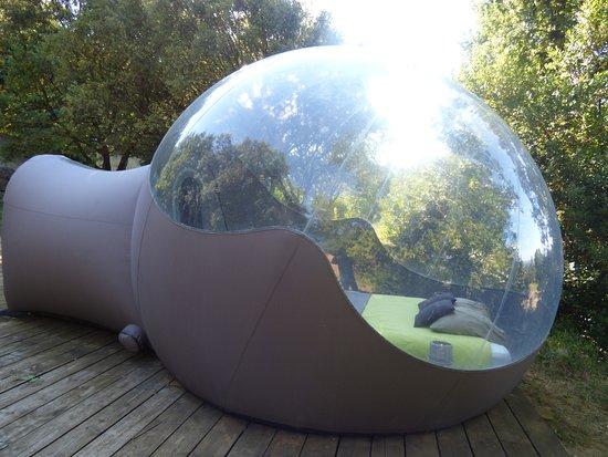 Petit d jeuner une couleur pour chaque bulle picture of for Maisons bulles
