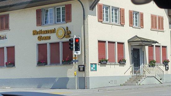 Ebikon, Швейцария: Restaurant Sonne