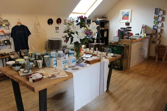 Броадфорд, UK: Skye Candles Shop, Broadford