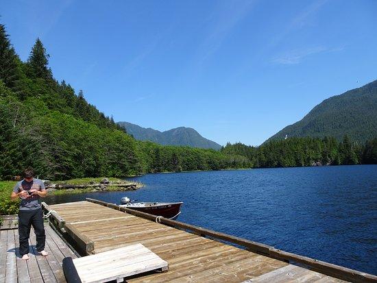 Port Hardy, Καναδάς: View from lodge