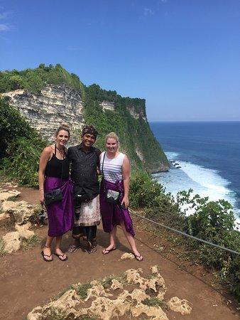Kerobokan, Indonesië: At Uluwatu Temple