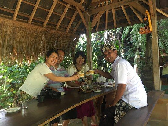 Kerobokan, Indonesië: At Coffe Plantation Ubud