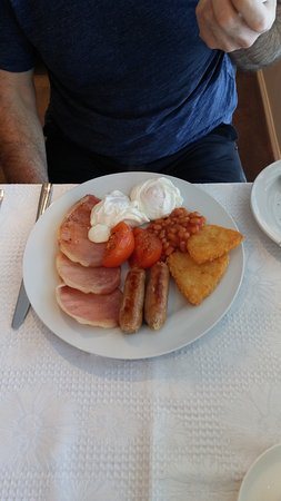 Eagle Heights, Australia: Husband breakfast