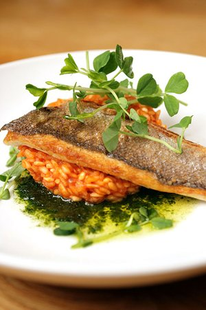 Wingrove House: Locally sourced, fresh fish