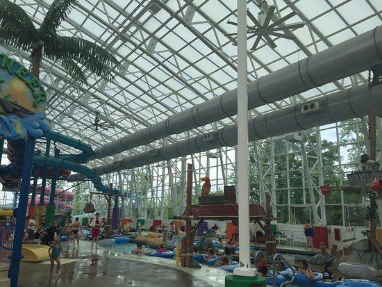 Big Splash Adventure Indoor Waterpark U0026 Resort: Retractable Glass Roof