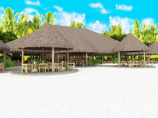 Lhaviyani Atoll : Main Restaurant