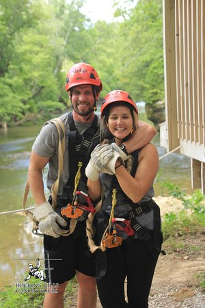 Rockbridge, Огайо: We had so much fun we couldn't stop smiling