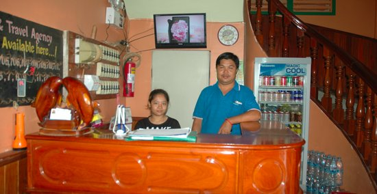 Moha Oudom Hotel : Reception