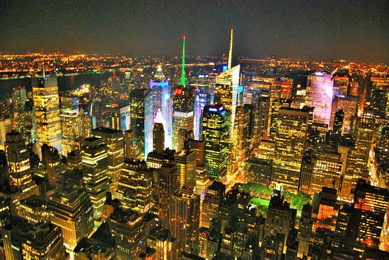 Empire State Building : superbe de nuit