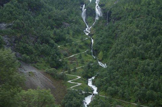 Norway waterfalls and hairpin turn roads picture of the flam the flam railway norway waterfalls and hairpin turn roads publicscrutiny Images