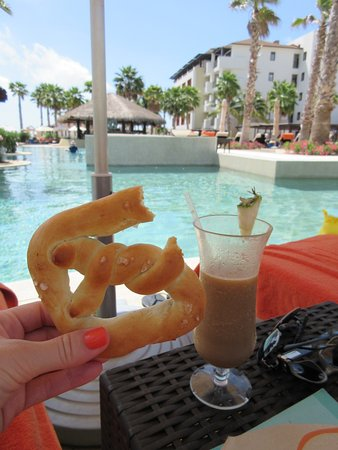 Pretzel from Coffee Bar & Drinks by Pool