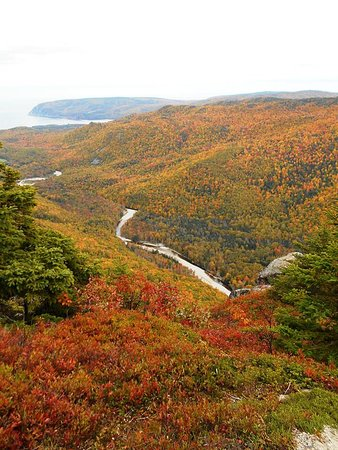 Dingwall, Canada: Franey view of the valley