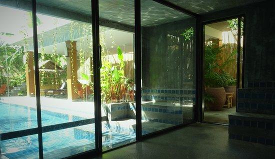 Rawai, Tajlandia: Sauna inside