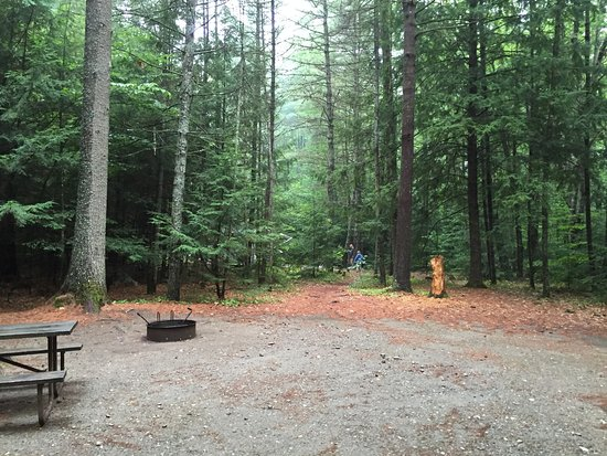 Hartford, VT: Site #10, very close to neighboring site, not a lot of privacy