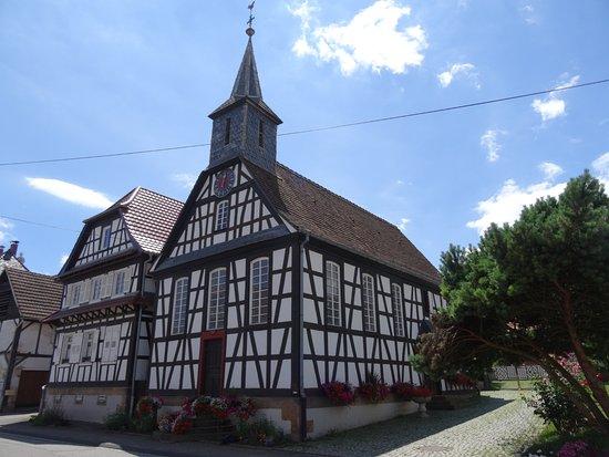 Kuhlendorf, France : Façade latérale