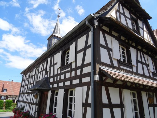 Kuhlendorf, France : Façade arrière