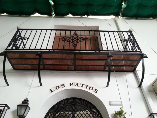 Hotel Los Patios: My room from the ground