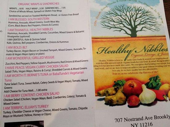 Photo of Restaurant Healthy Nibbles at 305 Flatbush Ave, Brooklyn, NY 11217, United States
