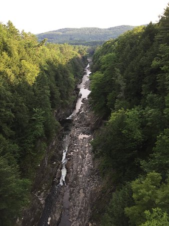 Quechee, VT: Looking down river