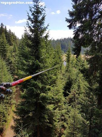 Balu Adventure Park: the longest tyrolean
