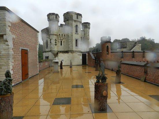 Meise, Bélgica: En haut du château